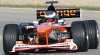 Monopost F1 Arrows A20 na trati. <br /> © AGS Formule 1